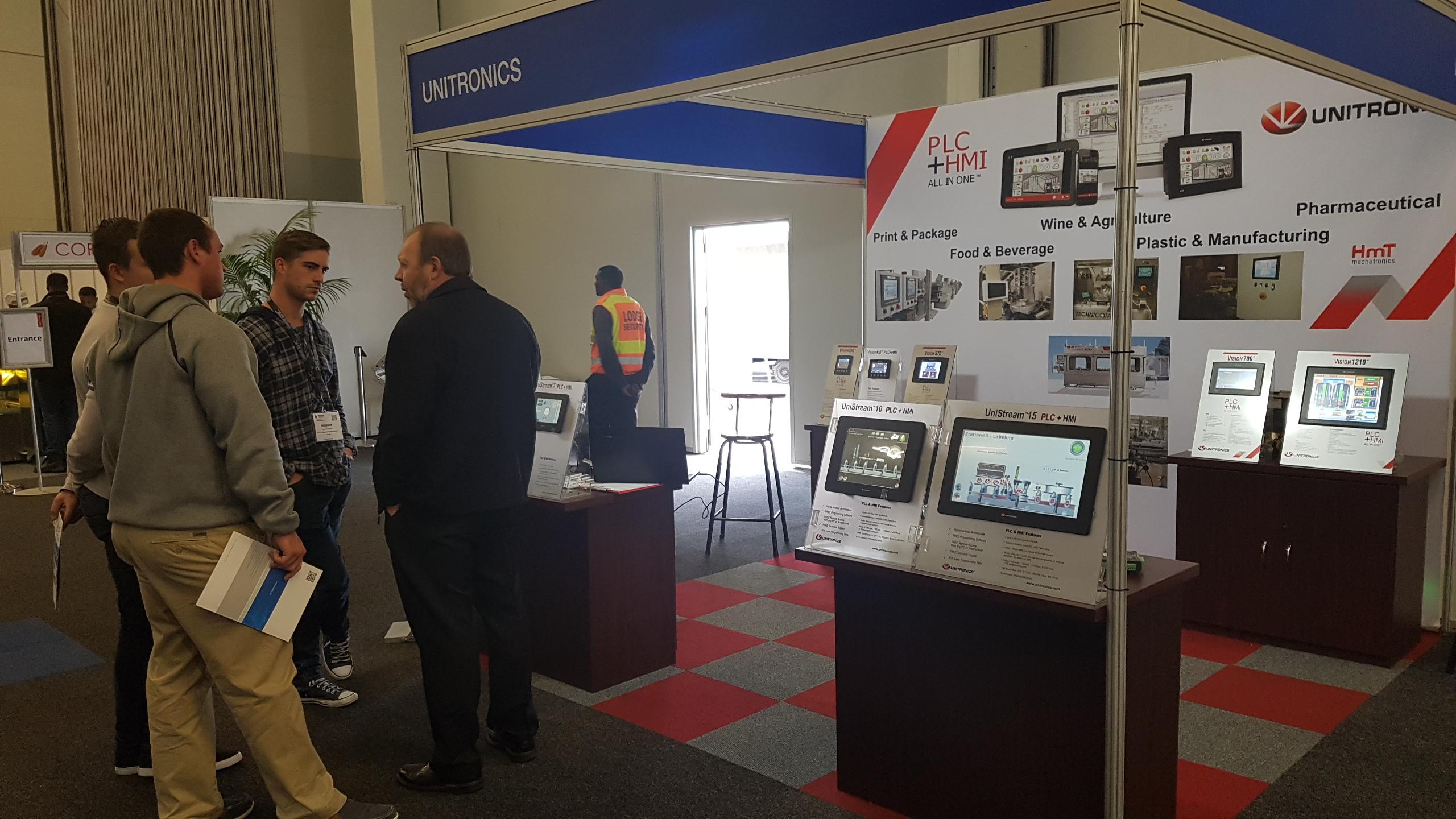 Expo Stands Cape Town : Propak 2017 cape town hmt mechatronics
