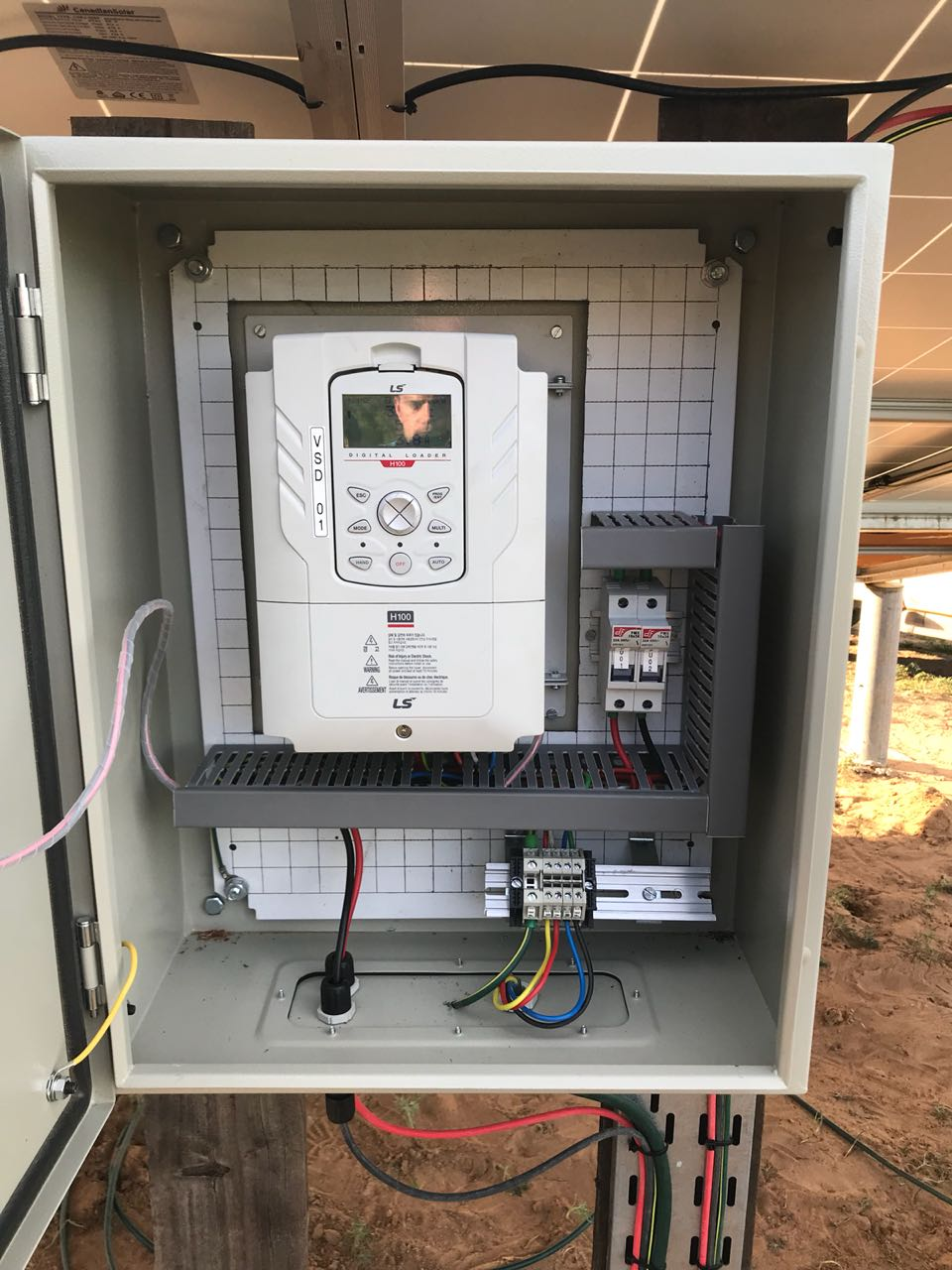 Solar Powered Drive Hmt Mechatronics By Electronic Projects Electrical System Integrator