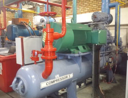 Coldroom Compressor VSD Start and Control