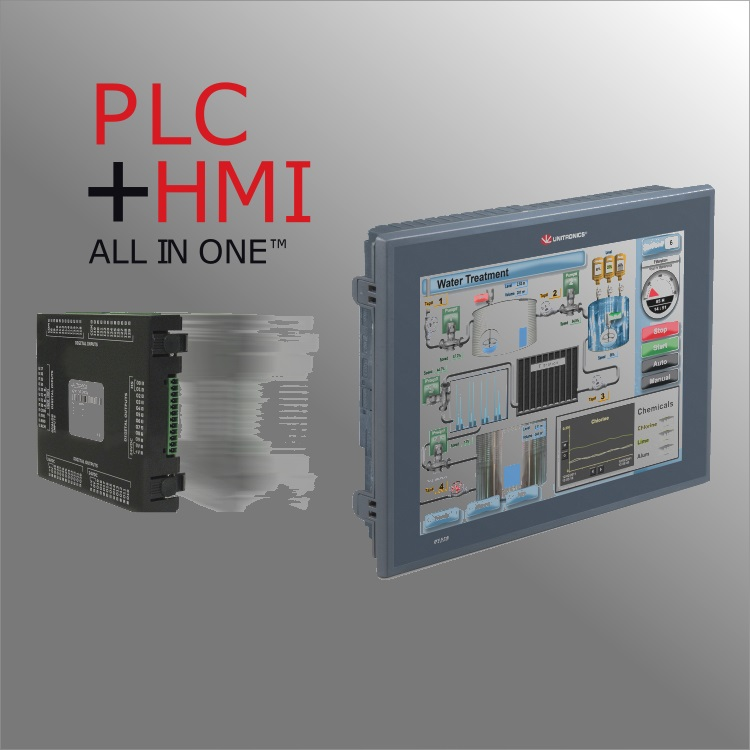 HMI/PLC All-In-One