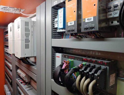 PLC & HMI Controlled – Wine Cellar