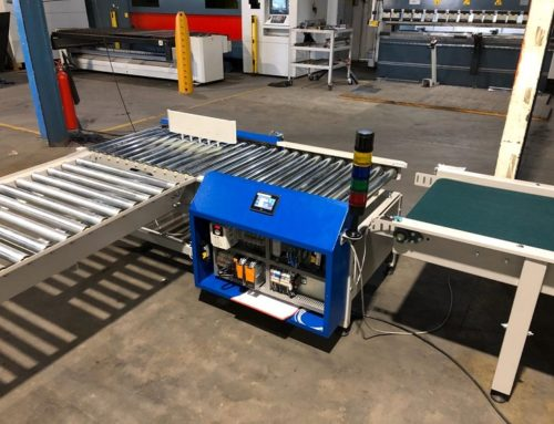 In-line weight monitoring – Fruit packaging